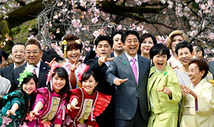 阿部総理主催の「桜を見る会」