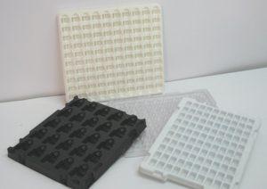 帯電防止 プラスチック製仕切・トレー